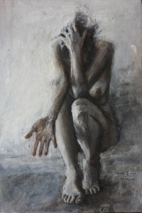 """""""This work is about reaching out. Being vulnerable. It is about a connection and letting someone in."""""""